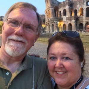 linda and mike halley in rome