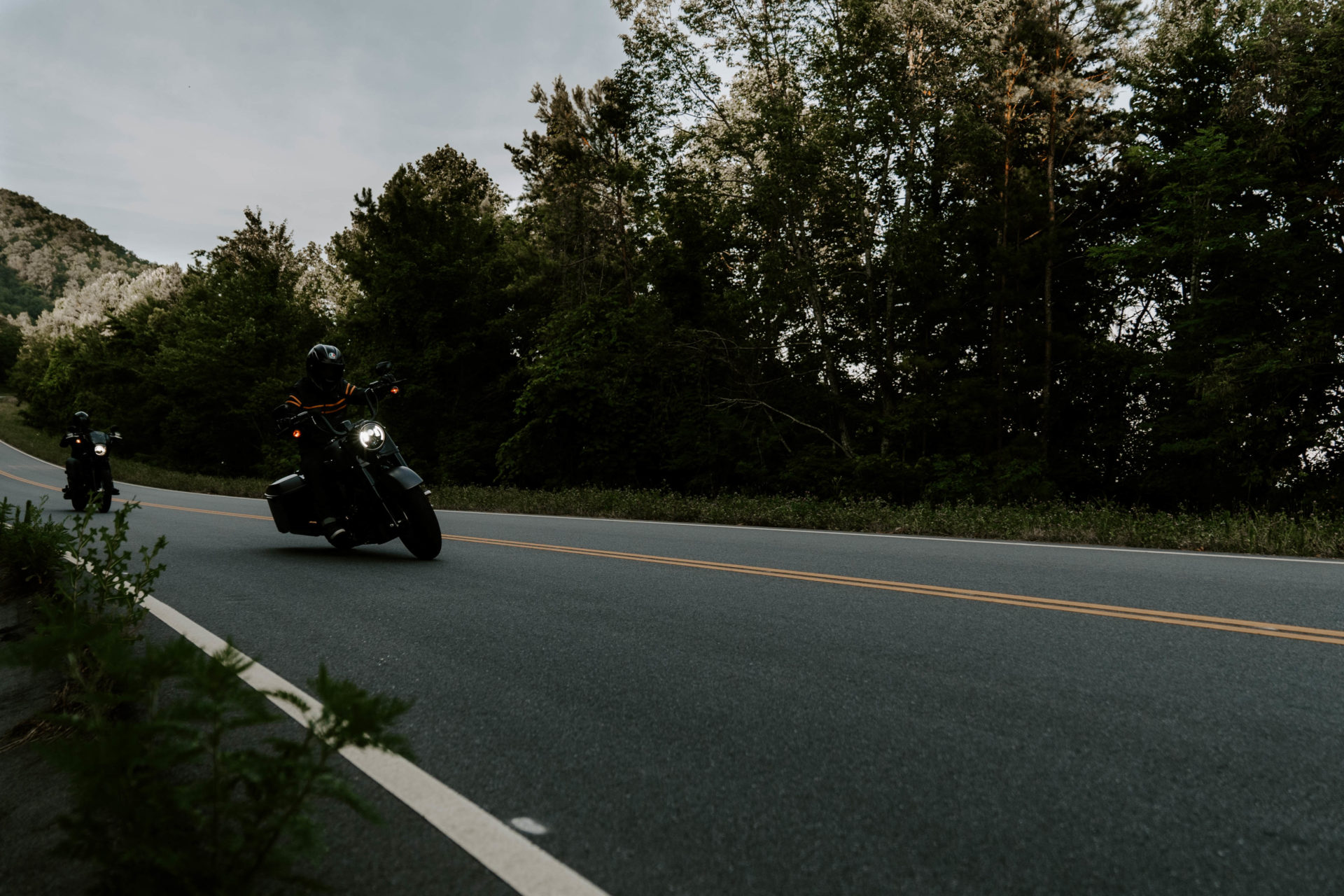 Riding Motorcycles on the Foothills Parkway