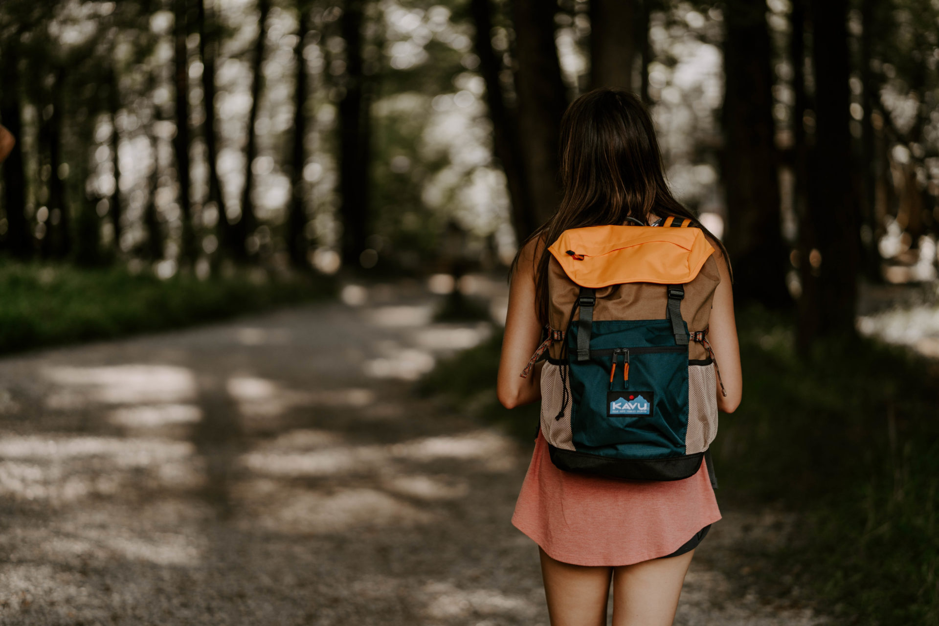 Hiking in Cades Cove with Kavu Backpack