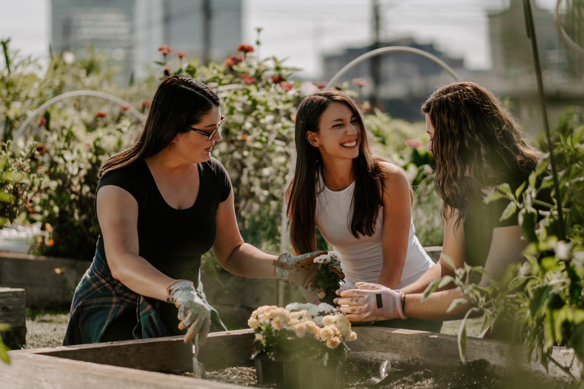 Danielle Dorsey Wellness Coaching Community Gardening