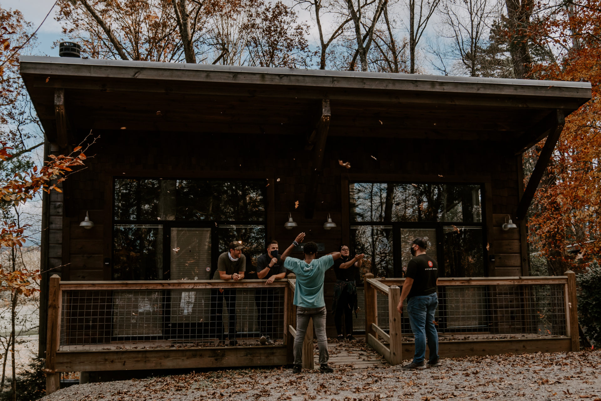 behind the scenes in blount county at dancing bear lodge