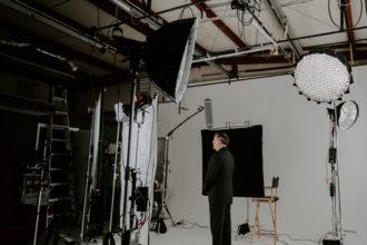 Big Slate Media Studio set-up for the Pinnacle Business Awards